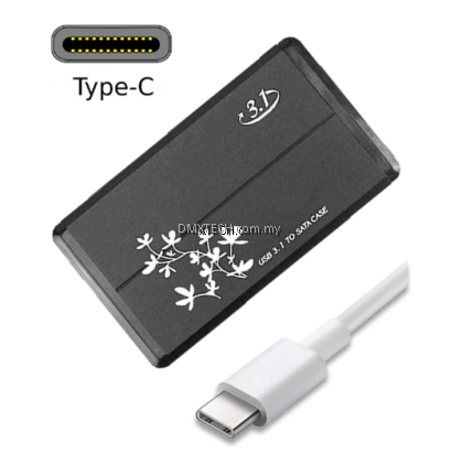 "Type-C USB 3.1 – 2.5"" HDD Enclosure"