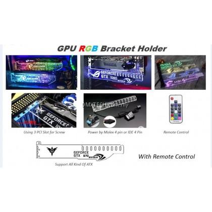 GPU RGB Bracket Holder C/with Remote control