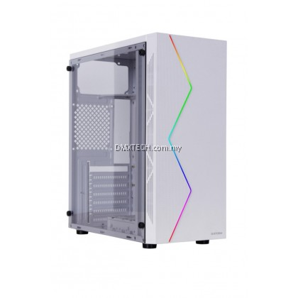 DMX ATX Tower Gaming Case P03- comes with RGB Strip light