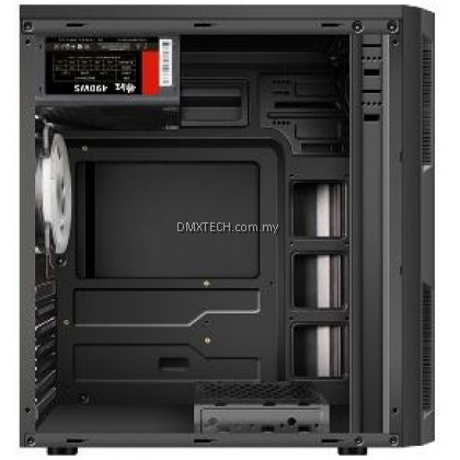 DMX ATX TOWER GAMING CASE P06- Built-in RGB Lighting Front Panel