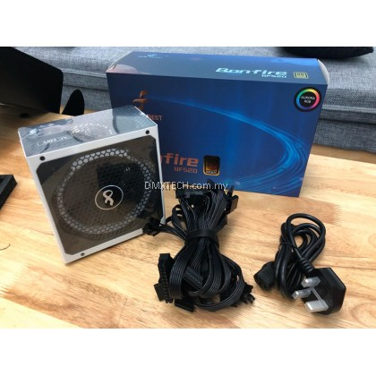 PC ATX Gaming Power Supply Aurora RGB Lights 500W Rated ( 80 Plus© Bronze Certified)