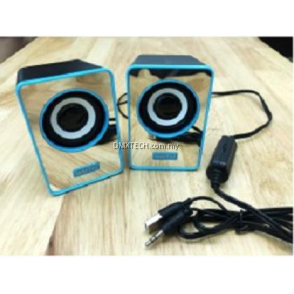 Desktop PC USB Speaker with Mirror design
